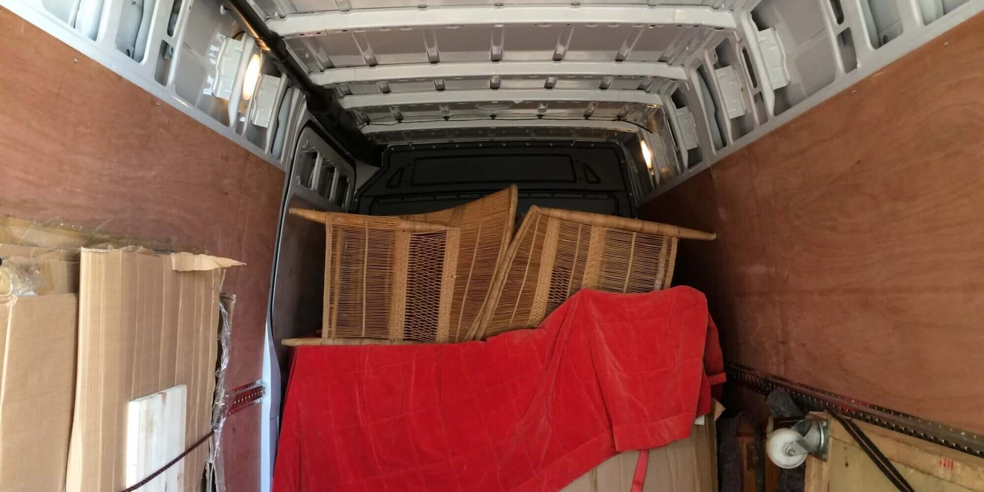 Van Load from Puglia, Italy