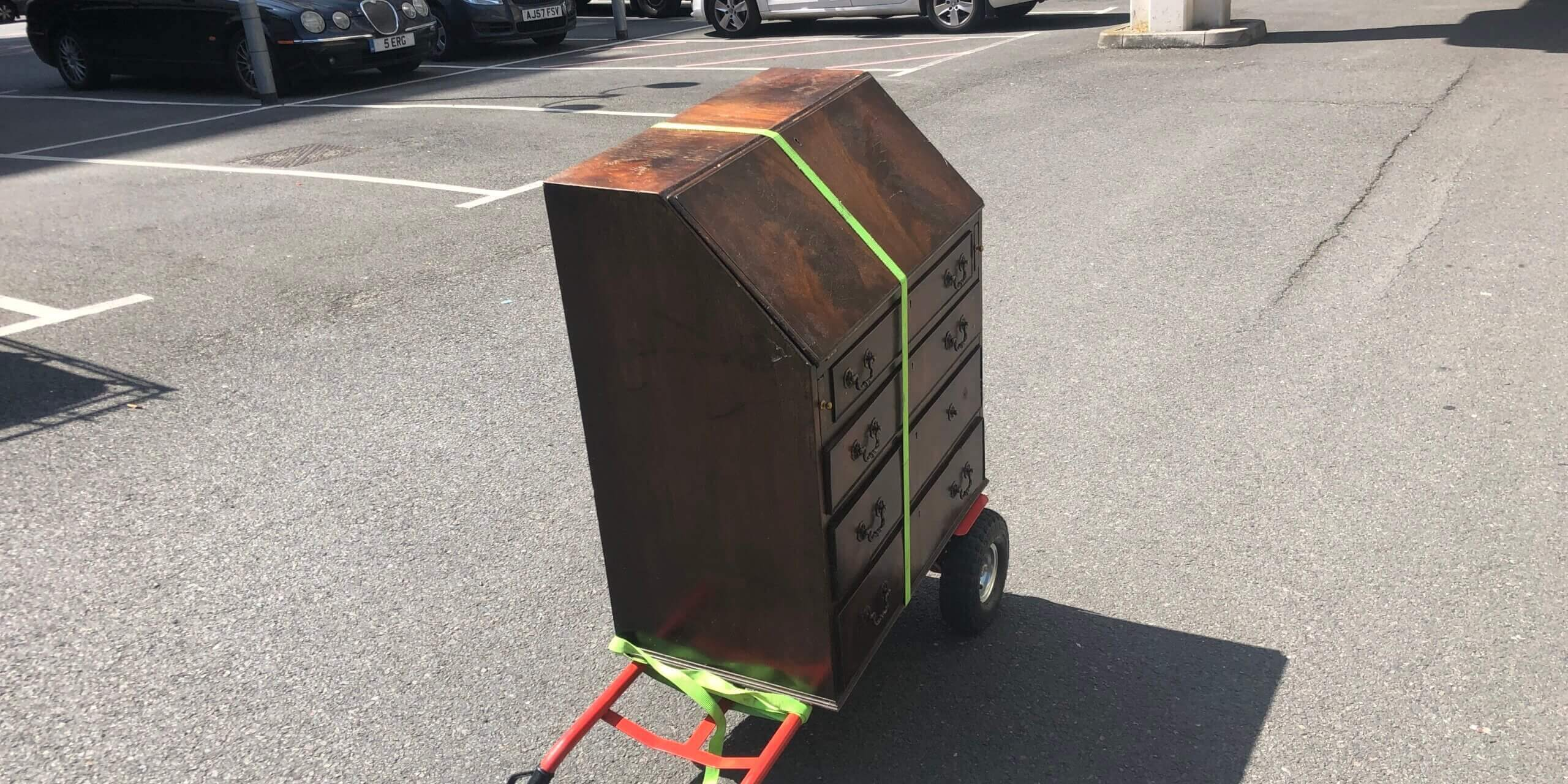 One man furniture transport